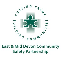 East and Mid Devon Community Safety Partnership logo