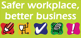 Safer workplace, better business logo