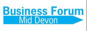 BUSINESS FORUM Mid Devon logo