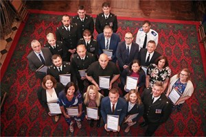 CCTV Supervisor recognised in Devon policing awards