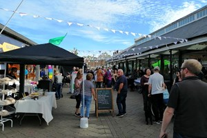 Celebrate summer with Tiverton's third 'Electric Nights' street food market of 2019
