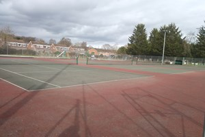 Work scheduled to revamp Crediton tennis courts