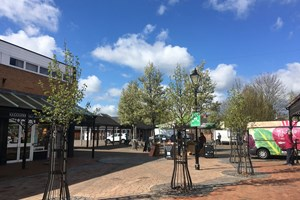 Market Walk improvements completed this Spring