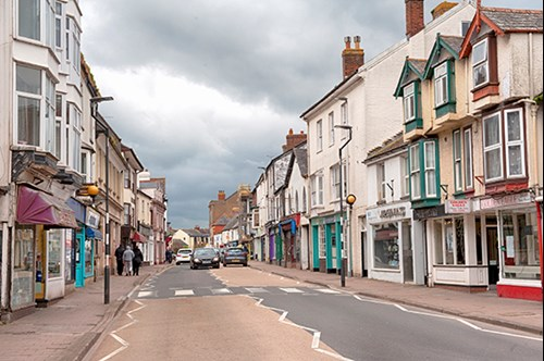 Image of Cullompton High Street