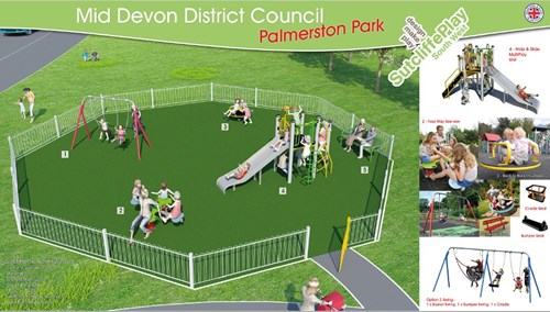 Proposed Palmerston park play area