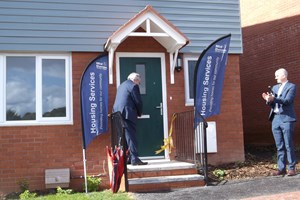 Council marks 100 years of social housing with opening of new Tiverton homes