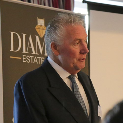 Image of Tommy Walsh giving his keynote speech