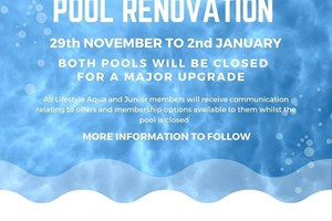 Swimming pools closed for upgrades at Lords Meadow Leisure Centre