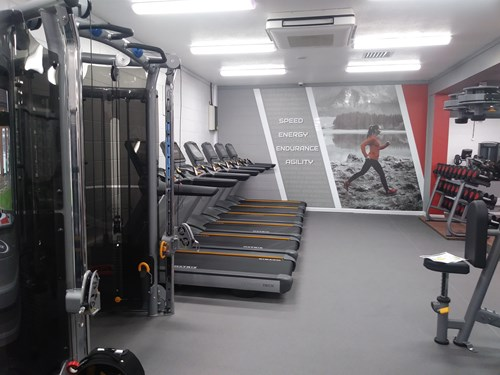 Image of the new Matrix equipment installed as part of the refurbishment at Culm Valley Sports Centre