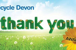 Fingers crossed for Mid Devon residents at Recycle Devon's Thank you Awards!