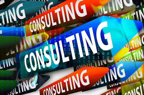 """Consulting"" stock image/graphic"