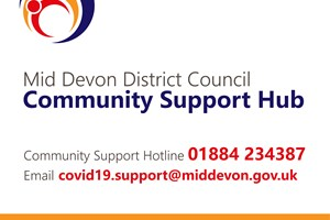 Community support hotline launched by Mid Devon District Council