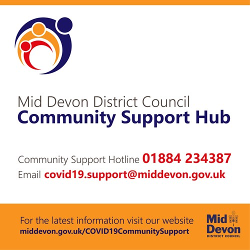 Community Support Hub graphic