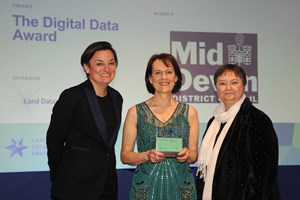 Mid Devon's Land Charges team secure another win at the National Local Land Charges Awards