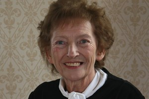 Chairman pays tribute to the late former councillor, Mary Turner