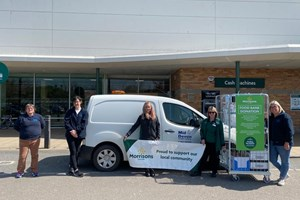 Council and supermarket staff work together to support local food packages