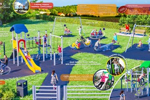 Cheriton Bishop to benefit from new-look play area