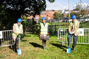 Construction Work Begins on Crediton's Health Hub