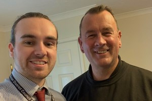 Father and Son to Work Together at Polls